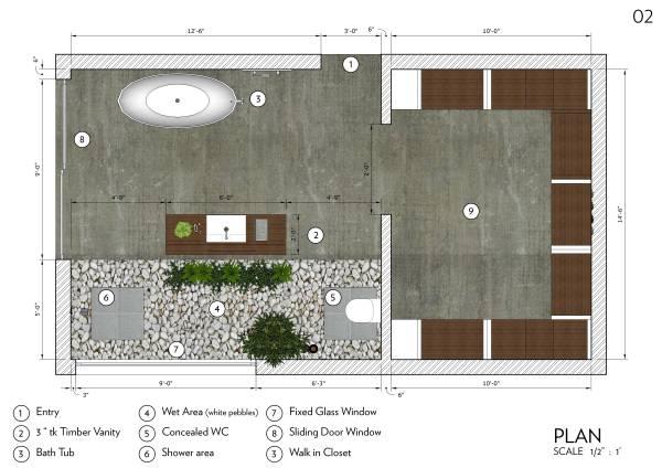 Image 02. Plan