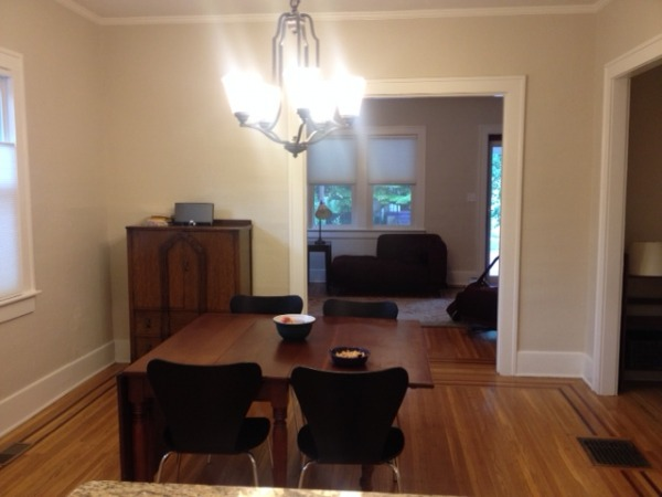 Image View of dining room in...