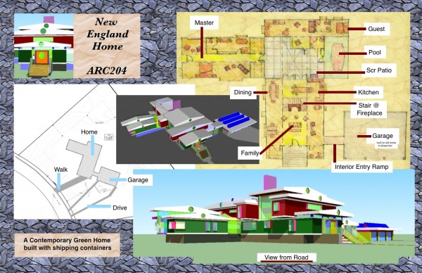 Image site plan and main flo...
