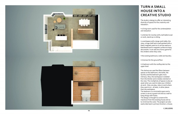 Image Turn a small house int...
