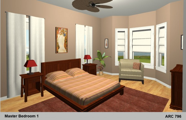 Image Master Bedroom Renderi...