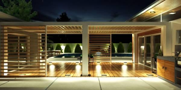 Image Covered Walkway / Pool...