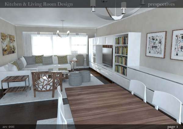 Image Living room - dining area