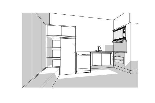 Image Kitchen Area near Draw...