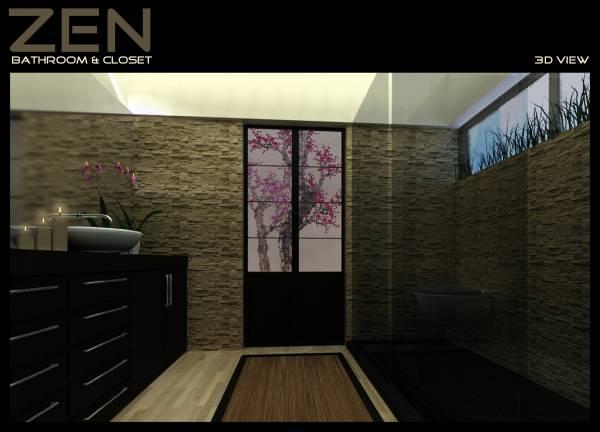 Image Asian/Zen Master Bath