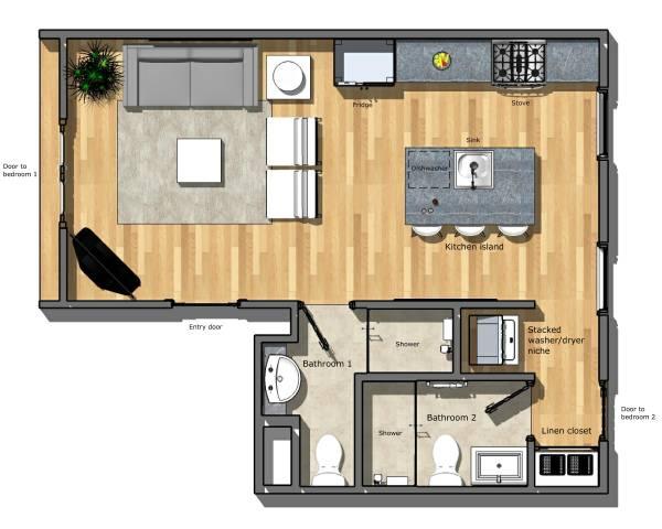 Image sheafe kitchen livingroom (1)