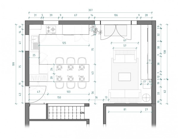 Image Floor plan drawing