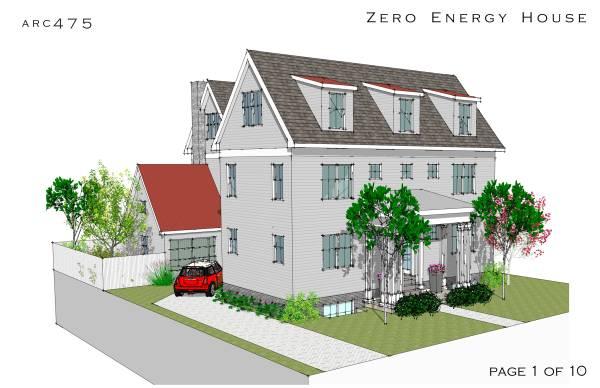 Image Zero Energy House
