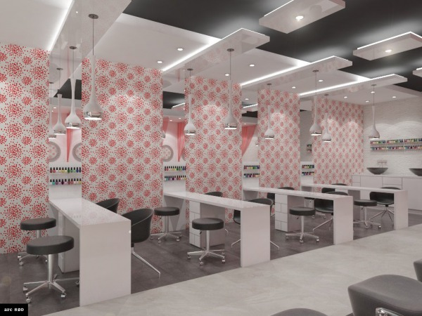 Retail Small Business Designed By Pandora High End Nail Salon Us Arcbazar