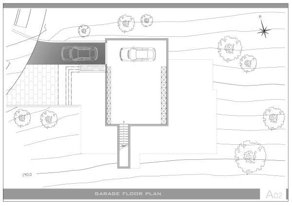 Image garage floor plan