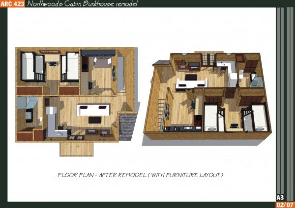 Image Northwoods Cabin Bunkh... (2)