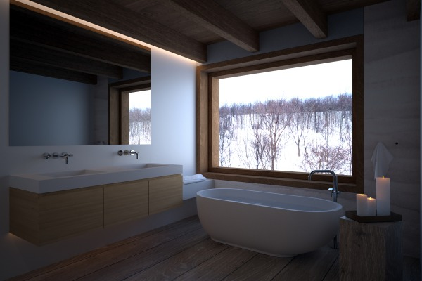 Image Master Bathroom with s...