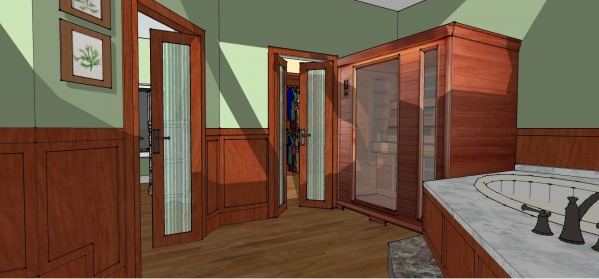 Image Master bath/closet