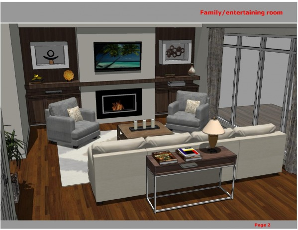 Image family/entertaining room
