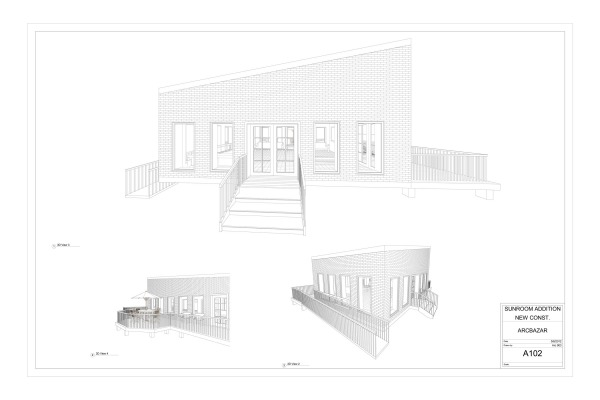 Image Sunroom, Porch & Kitchen (1)