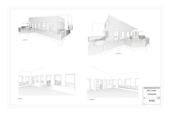 Image Sunroom, Porch & Kitchen (2)