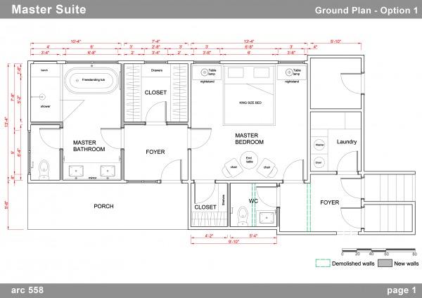 Image Ground plan - option 1