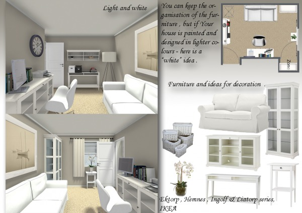 Image White home office