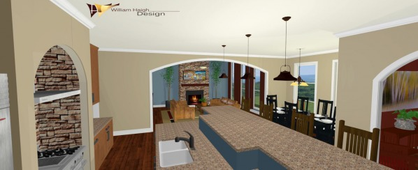 Kitchen Living Area