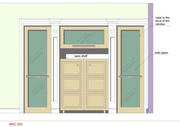 Image Built-in closet in new...