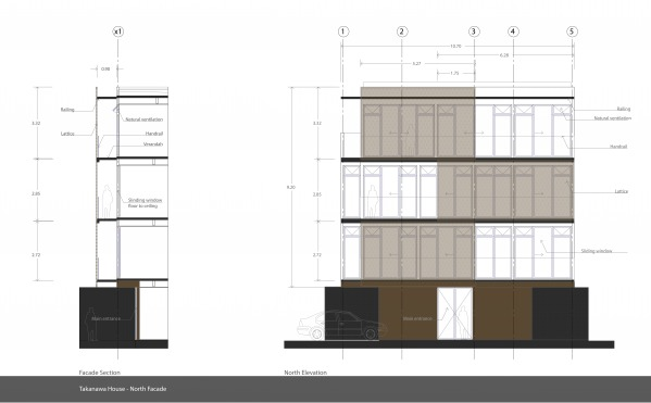 Image Facade Section and Ele...