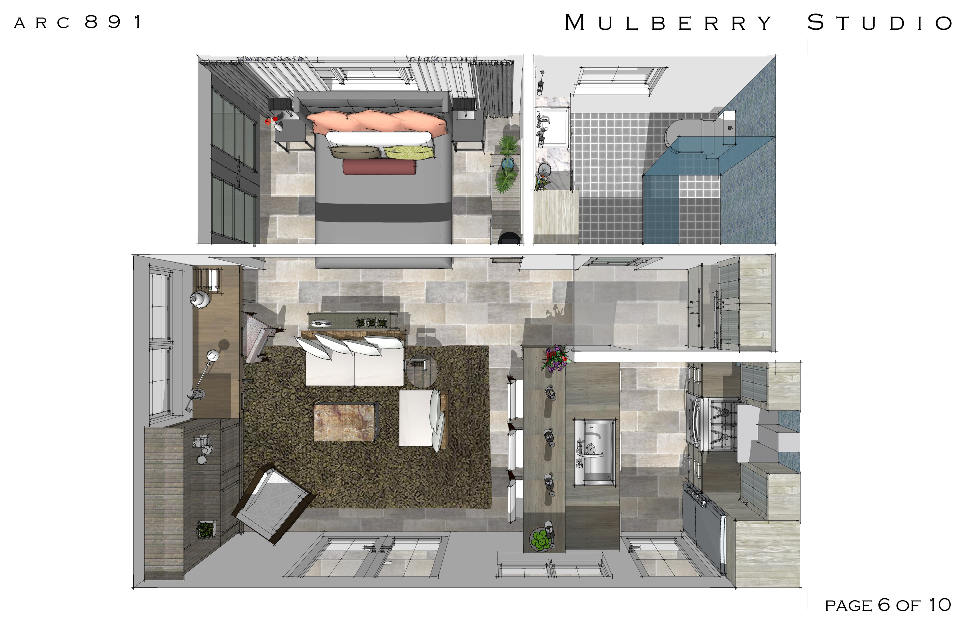 Home Makeover Designed By Arcadia Design Mulberry 300 Sq
