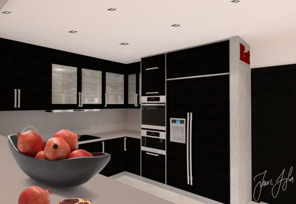 Image Interior design of fam...