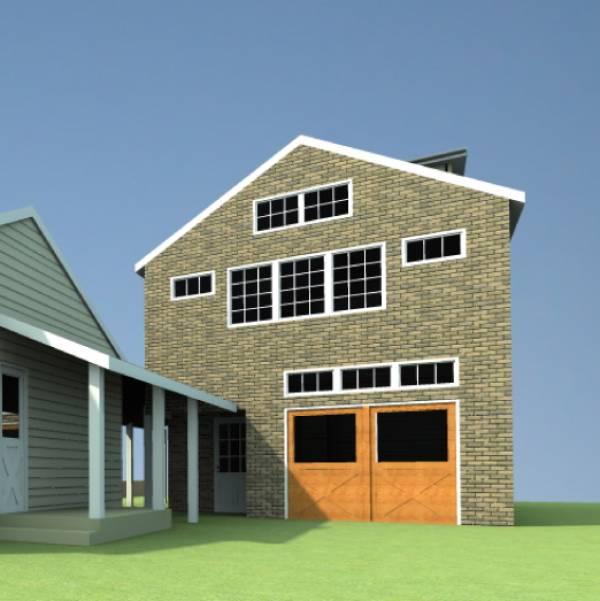 Image New Garage, Roof Siding