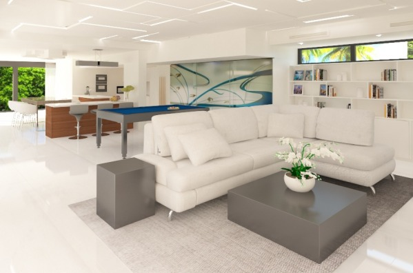 Image Modern Waterfront Hous...