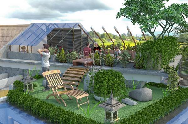 Image roof garden
