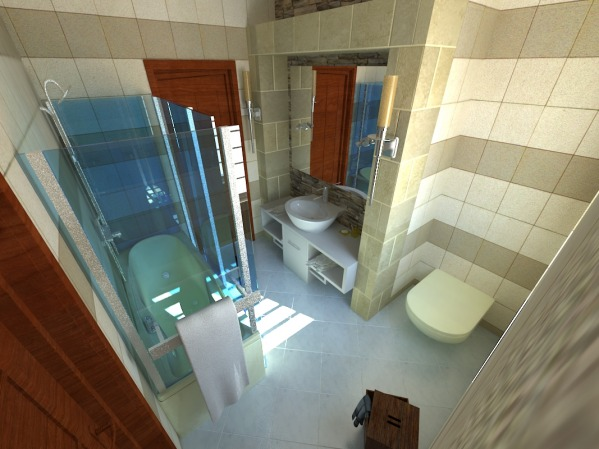 bathroom 1 first 3d shot