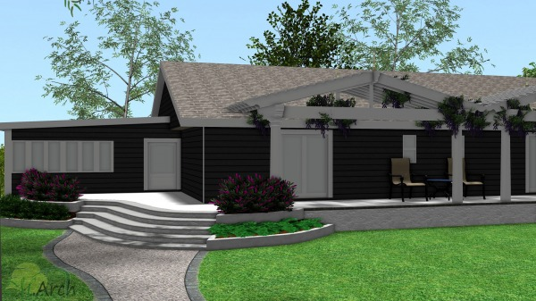 Image Remodel exterior home ... (1)