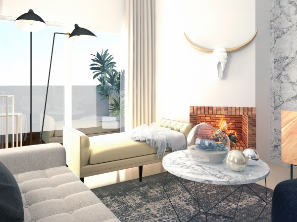 Image Tribal Modern Living room