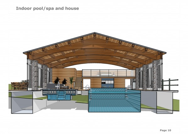 Image Indoor pool/spa and house (1)