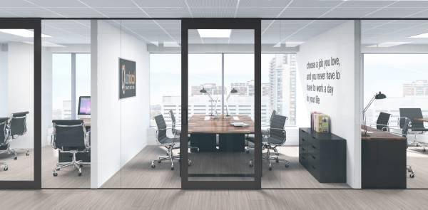 4 man office room