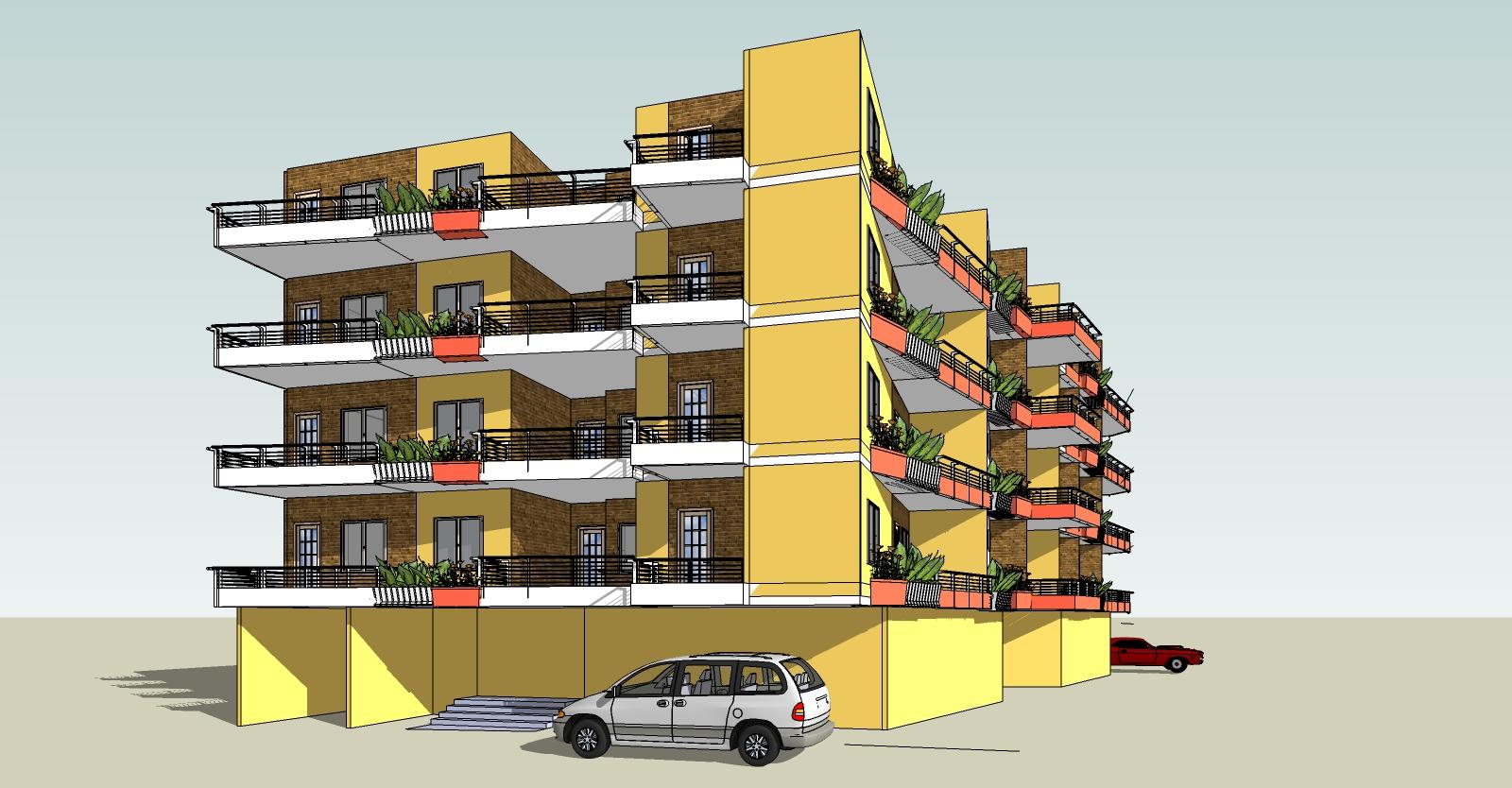 20 unit apartment building plans images