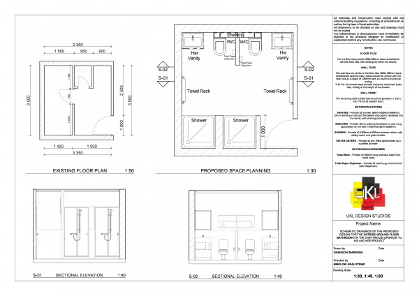 Image Floor Plan and Section...