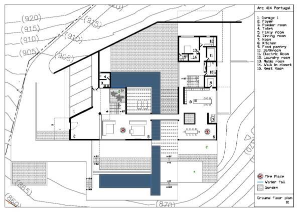 Image Ground floor plan 1/16...