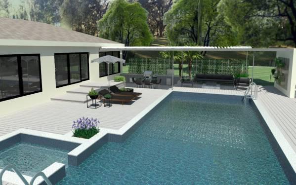 Image New Backyard Deck and ...