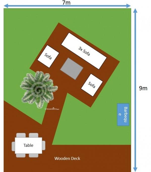 Image Garden Layout