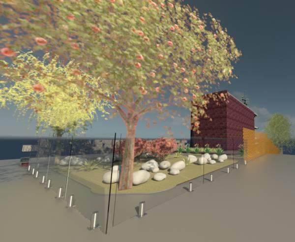 Image Landscape front back a...