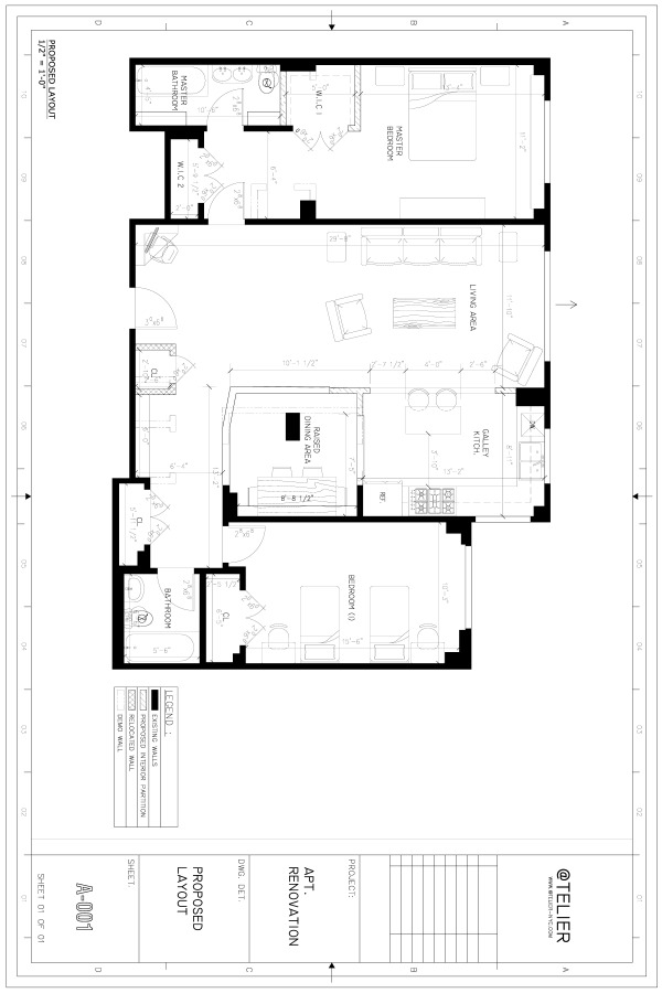 Image Proposed Apartment Layout