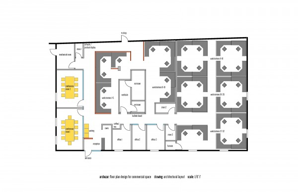 Image architectural layout