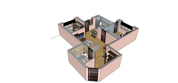 Image New flat for a family ... (1)