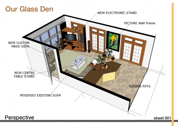 Image Our glass den