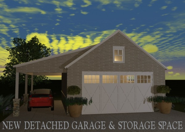 Image New Detached Garage & ...