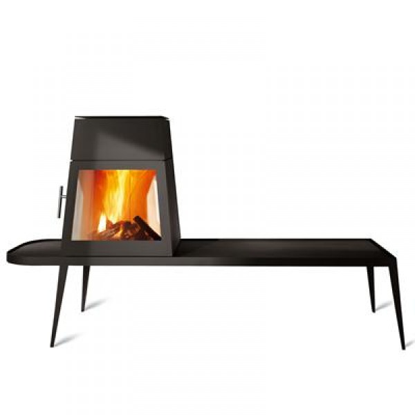 Image Modern Wood Stove with...
