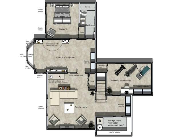 Image Multiroom Basement Finish (1)