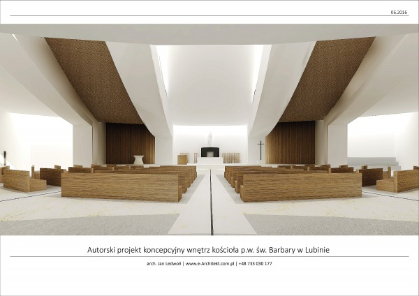 Image Church interior design...