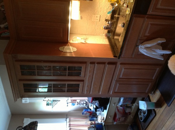 Image Existing cabinetry on ...